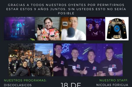 Noveno Aniversario De La Discoteca Radio