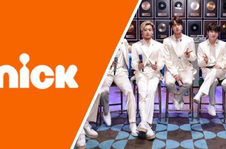 BTS en Nickelodeon